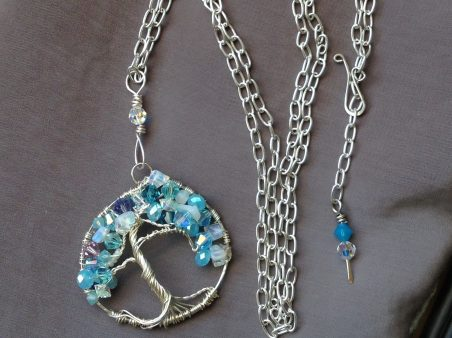 Tree of Life Pendant for Daughter's Birthday, by Anne  - featured on Jewelry Making Journal