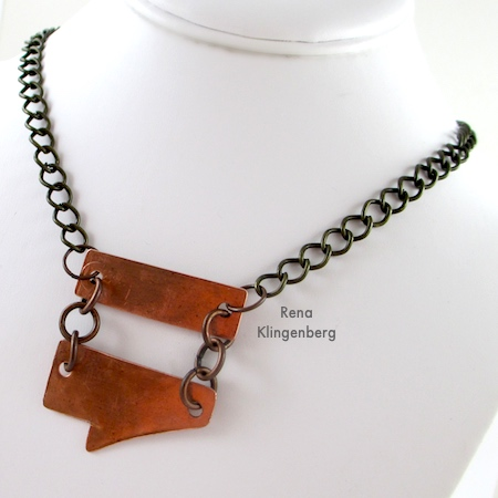 Rugged Scrap Metal Necklace (Tutorial)