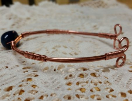 First Wire Bracelet by Catherine Smith  - featured on Jewelry Making Journal