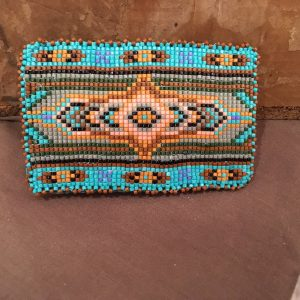Beaded Belt Buckle