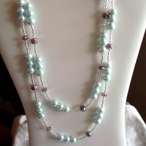 Simple Necklace Style to Wear Long or Short