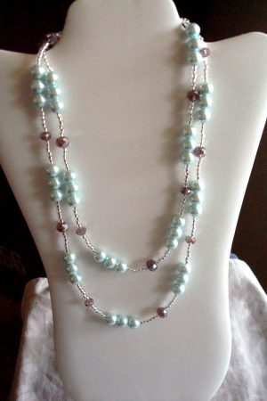 Simple Necklace Style to Wear Long or Short by Kathy Zee  - featured on Jewelry Making Journal