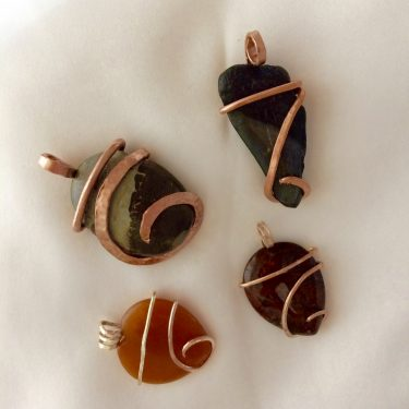 Learning a New Pendant Design at the Tucson Gem Show