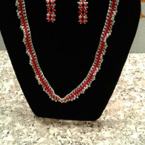 Necklace with Superduo Beads