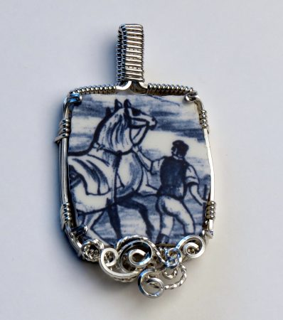 Horse Pendant by Valarie Lewis  - featured on Jewelry Making Journal