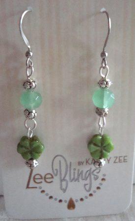 Earrings by Kathy Zee  - featured on Jewelry Making Journal