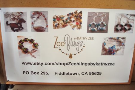 My Banner Sign for Jewelry Shows by Kathy Zee  - featured on Jewelry Making Journal