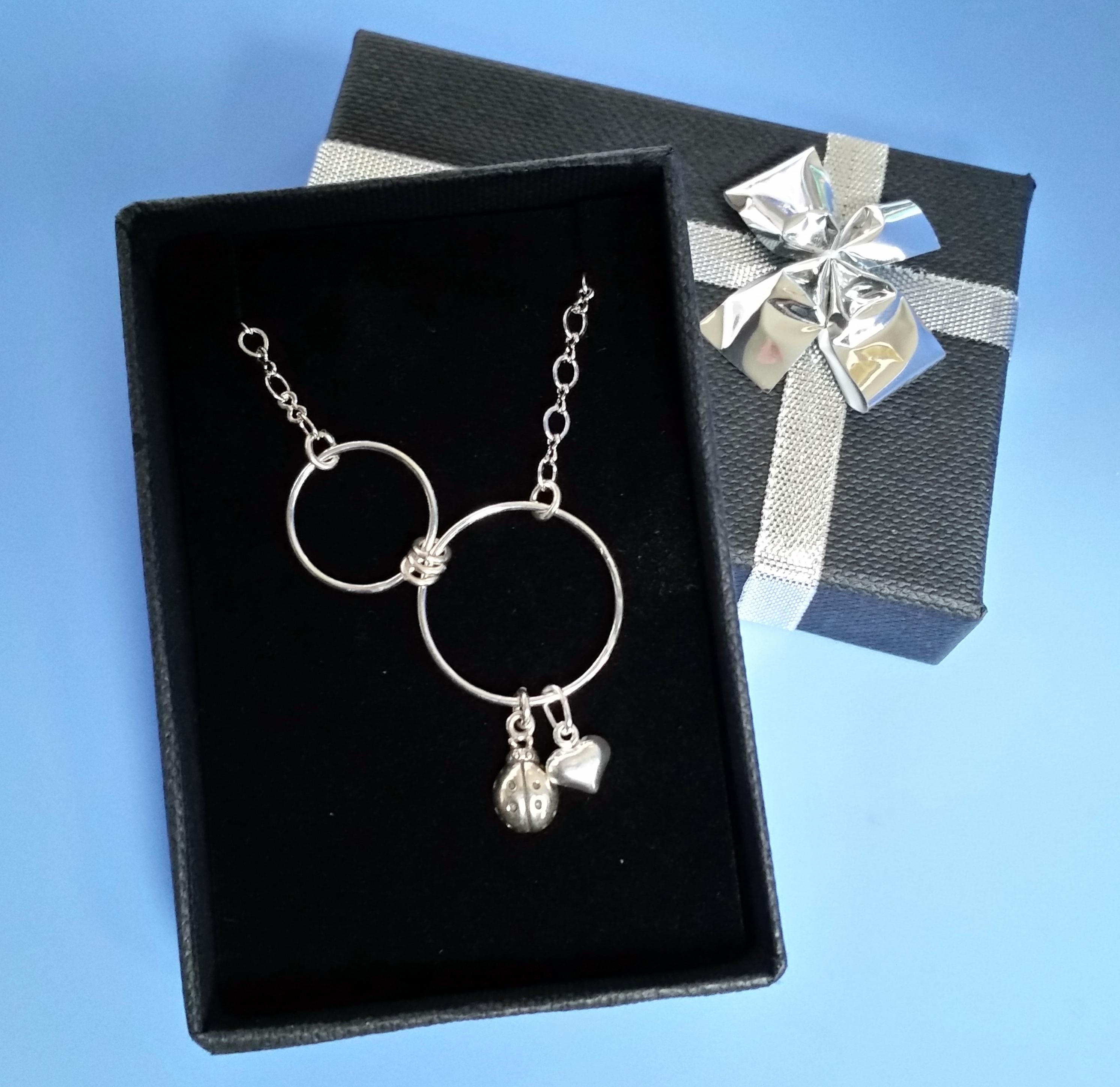 Diane's Ladybug Necklace