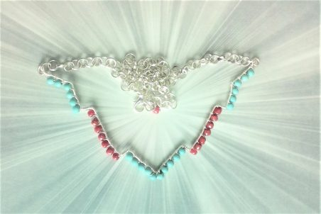 Chevron Jewelry by Jeanne  - featured on Jewelry Making Journal