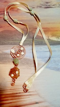 Seascape Dreams Jewelry by Alla P.  - featured on Jewelry Making Journal