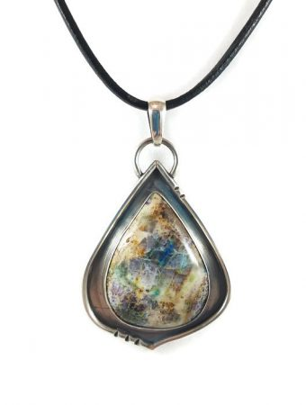 Kaleidoscope Pendant by Tammy Baalman  - featured on Jewelry Making Journal