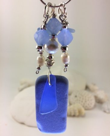 Gifts of Spring - Sea Glass Jewelry by Melinda Lovell  - featured on Jewelry Making Journal