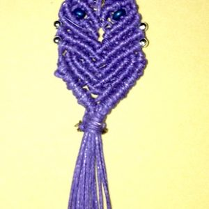 Simple Twisted Macrame Wraps and Owl