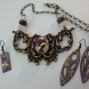 Gothic Baroque Bib Necklace