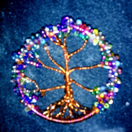 Colorful Tree of Life by Naomi Flynn - featured on Jewelry Making Journal