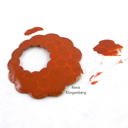 Jewelry Patina Techniques Tutorial by Rena Klingenberg - The Look of Rust and Corrosion