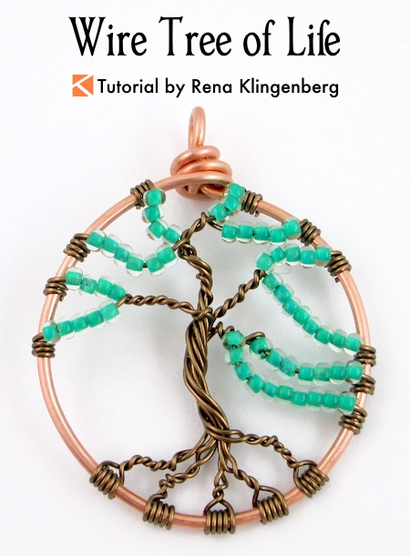 Wire Tree Of Life Tutorial Jewelry Making Journal