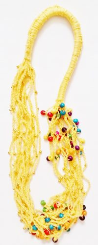 Crochet Tier Necklace by Joybelle Malcolm  - featured on Jewelry Making Journal