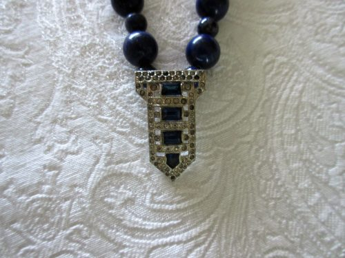 Dress Clip into a Necklace by Paula Trehey  - featured on Jewelry Making Journal
