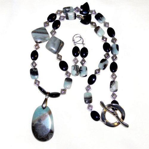 Machu Picchu Jewelry Set by Susen Foster  - featured on Jewelry Making Journal