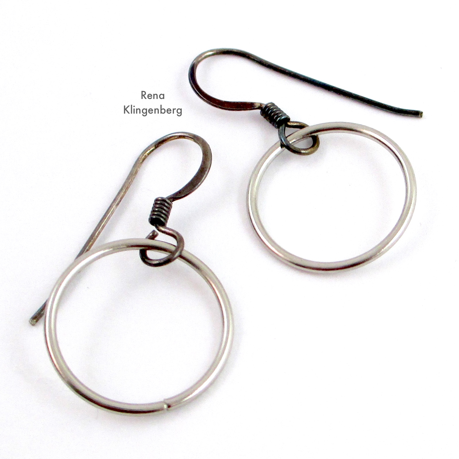 Quick & Easy Hoop Earrings (Tutorial)