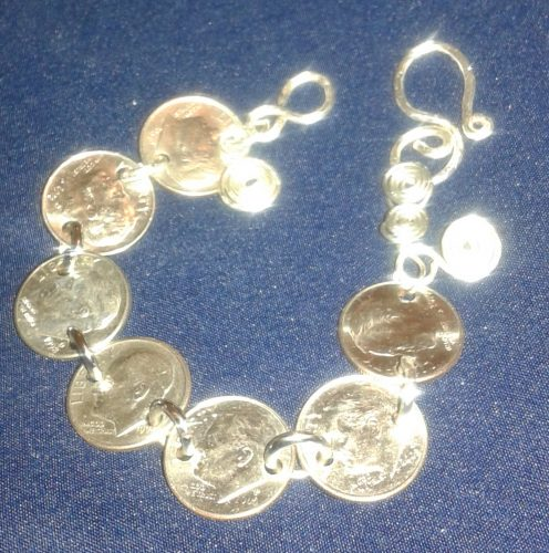 Classy Coin Jewelry by Etta Hughes  - featured on Jewelry Making Journal