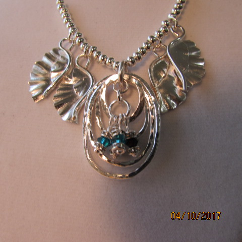 Mother's Necklace by Karen Watson  - featured on Jewelry Making Journal
