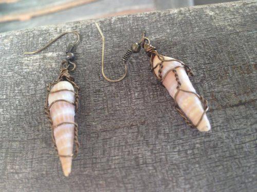 Hear the Ocean, Earrings by Cindi Bernloehr  - featured on Jewelry Making Journal