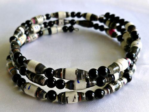 Paper Bead Jewelry by Anita S Campbell  - featured on Jewelry Making Journal