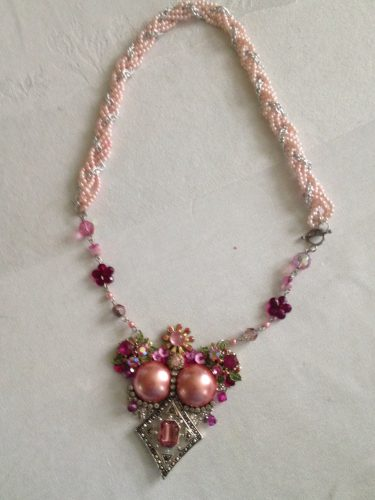 Upcycled Costume Jewelry by Carol Wofford  - featured on Jewelry Making Journal