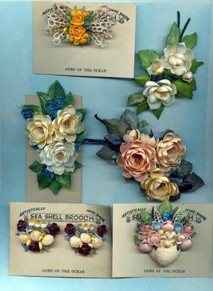 Shell Jewelry from the Past by Bev Carlson  - featured on Jewelry Making Journal
