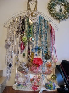 Jewellery Wall by Tamara Robertson  - featured on Jewelry Making Journal