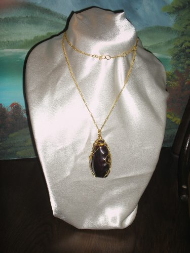 Vintage Bottle Pendant by Carol Wilson  - featured on Jewelry Making Journal