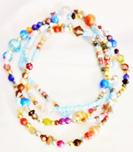 The Secret Jewelry - Waist Beads by Joybelle Malcolm  - featured on Jewelry Making Journal
