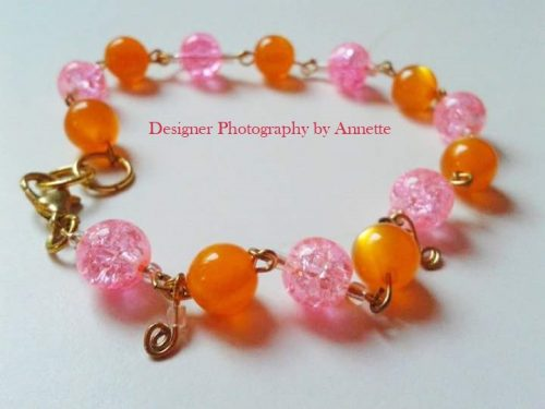 Summer Bracelet by Annette Revilla  - featured on Jewelry Making Journal