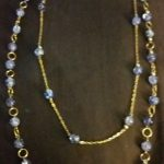 Crackle Two Tier Necklace with Versatility