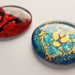 Troubleshooting: Adhesive Vinyl and Nail Polish on Glass Cabochons