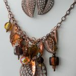 Falling Leaves and Colors of Autumn Jewelry Set