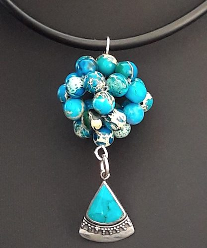 Dodecahedron / Soccerball Pendant - My Latest Work, by Lyn  - featured on Jewelry Making Journal