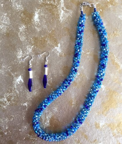 Kumihimo Necklaces, by Sheila Meador  - featured on Jewelry Making Journal