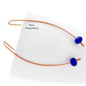 Simply Elegant Long Earrings (Tutorial)
