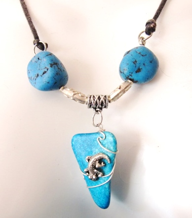 African Bush Jewelry Ideas, by Babsi Casack  - featured on Jewelry Making Journal