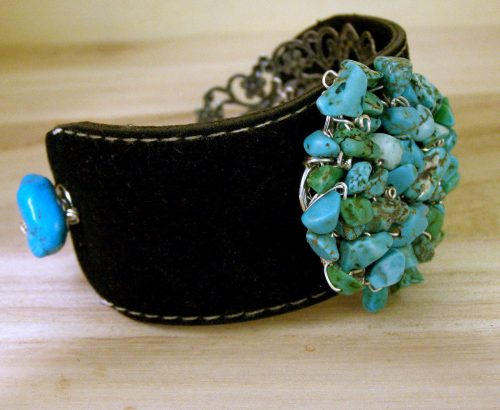 Bold, Beautiful Cuff Bracelets by Candy  - featured on Jewelry Making Journal