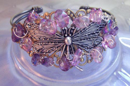 Bold, Beautiful Cuff Bracelets by Candy  - featured on Jewelry Making Journal