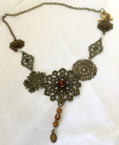 Steampunk Jewelry Designs by Penny Worsham  - featured on Jewelry Making Journal