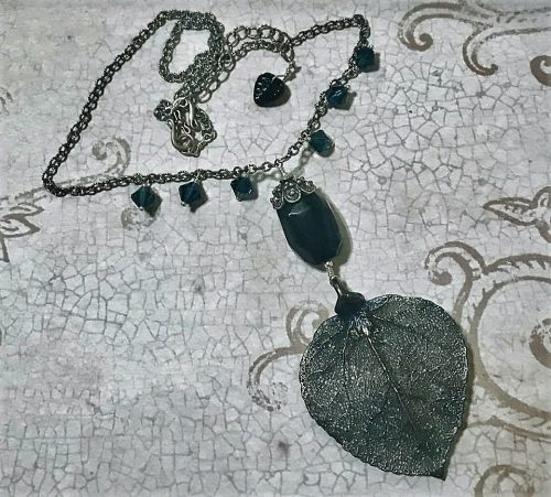 Gothic - Black Jewelry by Jennifer Prim  - featured on Jewelry Making Journal