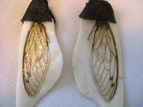 Cicada Wings and a Moment of Peace, Captured in Jewelry by Tamara Robertson  - featured on Jewelry Making Journal