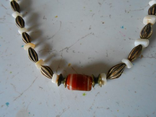 Glass and Stone Necklaces, by Mickey Moore  - featured on Jewelry Making Journal