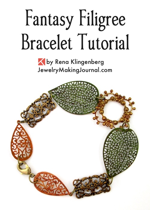 Fantasy Filigree Bracelet Tutorial by Rena Klingenberg