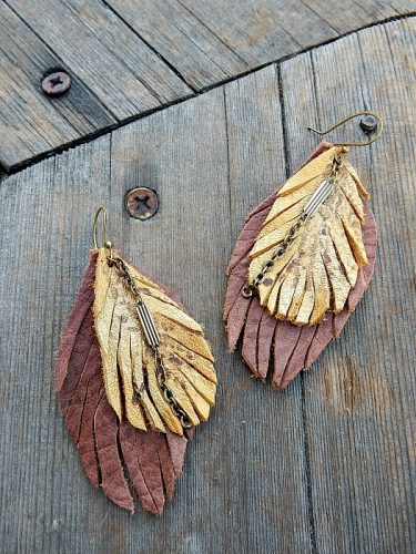 Getting Into Leather Works - and Please Share Your Leatherworking Tips by Lynda Carson  - featured on Jewelry Making Journal